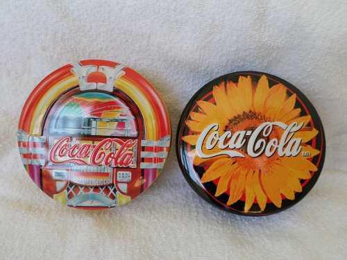 2 alhajeros coca cola nuevos de lata