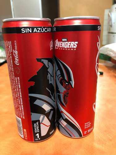 2 latas de coca cola avengers endgame thanos