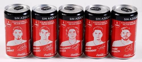 5 latas coca cola chuky chicharito ochoa oribe raul jimenez