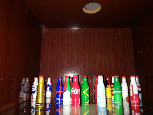 Botellitas coca cola mini mundialistas