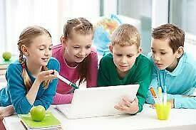 Clases de ingles para niños a domicilio maestra nativa