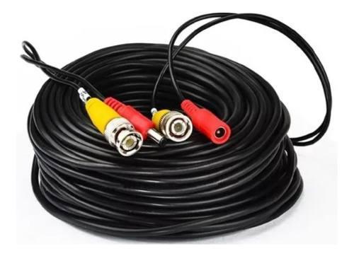 Cable siames para cámaras vigilancia video voltaje 40