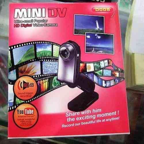 Camara espia mini dv dvr hd d005 sirve como web cam video