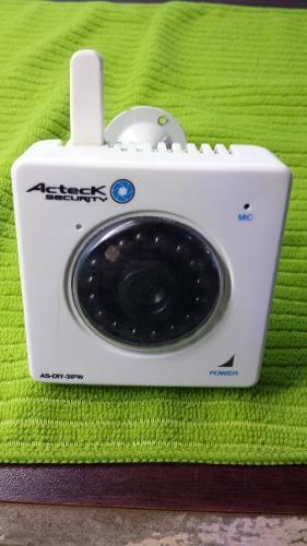 Camara ip inalambrica con microfono y vision nocturna