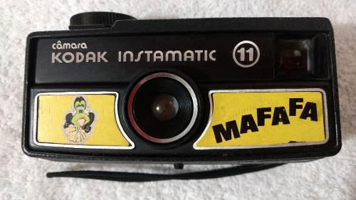 Camara Kodak Instamatic 11 Mafafa Vintage Oportunidad..!!