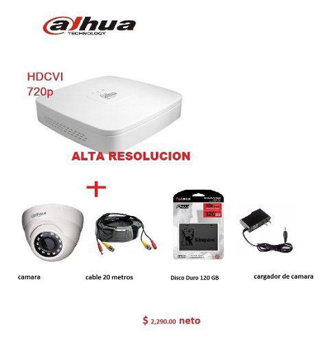 Camara video vigilancia hd incluye todo lo que ocupas
