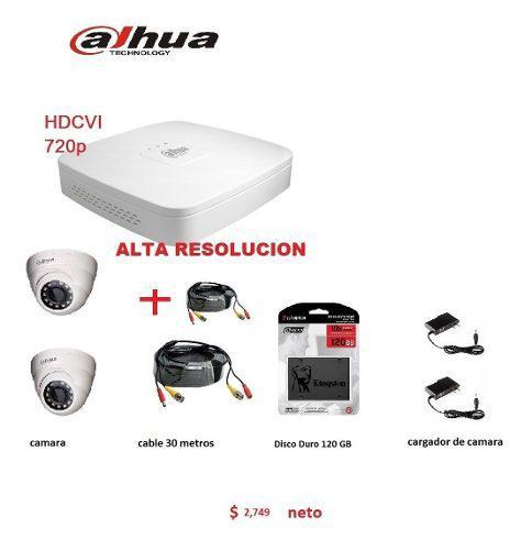 Camaras de video vigilancia hd incluye todo lo que ocupas