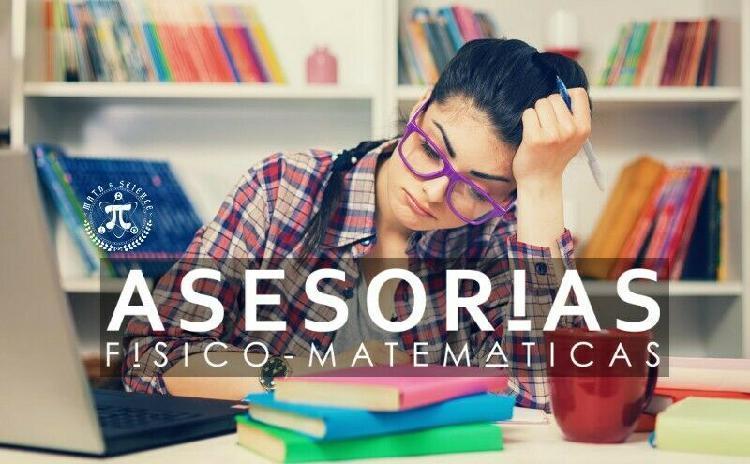 Clases personalizadas física, matemáticas e ingenierías