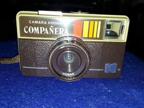 Cámara fotográfica kodak compañera vintage 70, 80´s