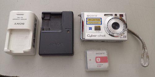 Cámara fotográfica sony cyber shot 7.2 dsc-w80 motomaniaco