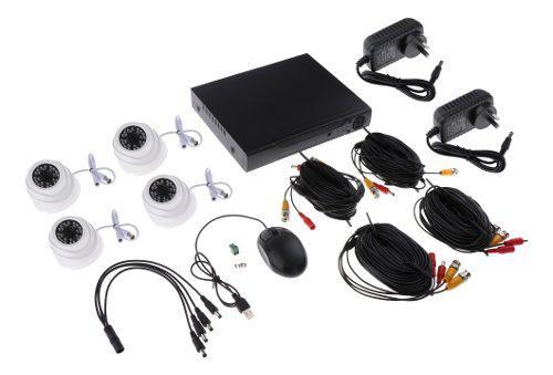Cámaras de seguridad analógicas 24 luces hd cámara