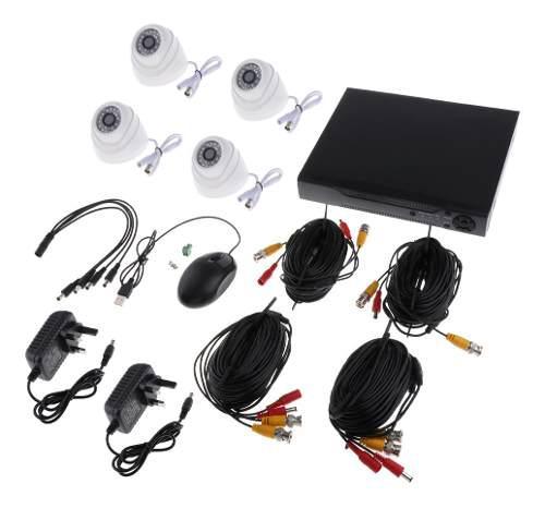 Cámaras de seguridad analógicas 24 luces hd cámara infra