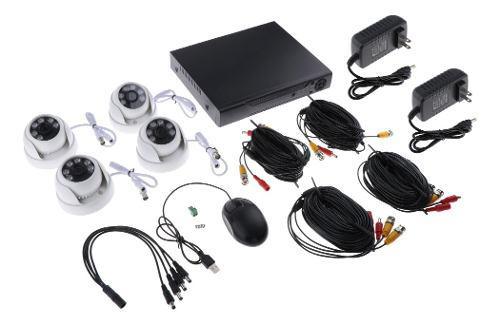 Cámaras de seguridad analógicas 6 luces hd cámara