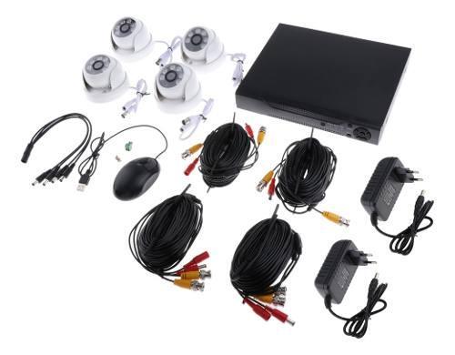 Cámaras de seguridad analógicas 6 luces hd cámara de