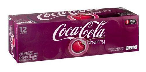 Coca cola cherry (12 latas de 355 ml)