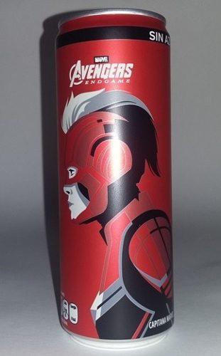 Coca cola lata, avengers end game, capitana marvel, ed. 2019