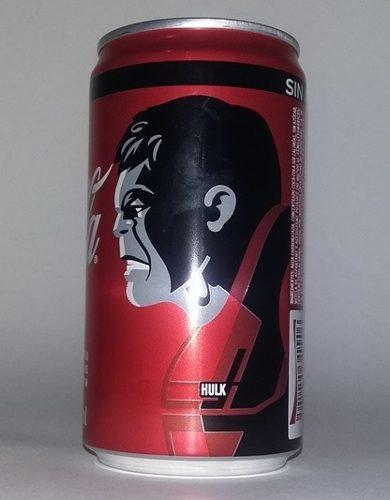 Coca cola lata, avengers end game hulk edición especial
