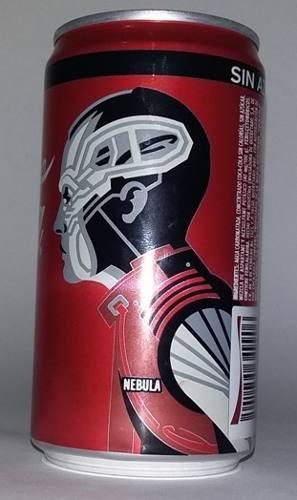 Coca cola lata, avengers end game, nebula, ed. 2019