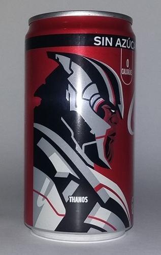 Coca cola lata, avengers end game, thanos, ed. 2019