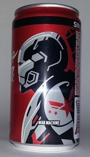 Coca cola lata, avengers end game, war machine, ed. 2019