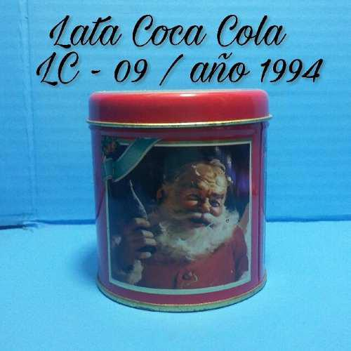Coca cola. lata de colección lc-09 / año 1994