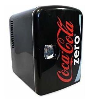 Coca cola mini enfriador personal frigobar portatil 6 latas
