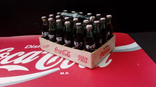 Coca cola mini rejita de 25 botellitas