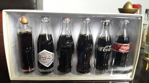 Coca cola minis evolución de coca cola contour