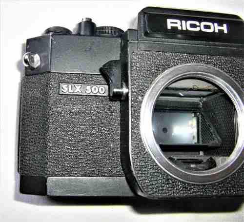 Cuerpo de camara ricoh modelo srx-500-sin lente.mont-r-m42.!