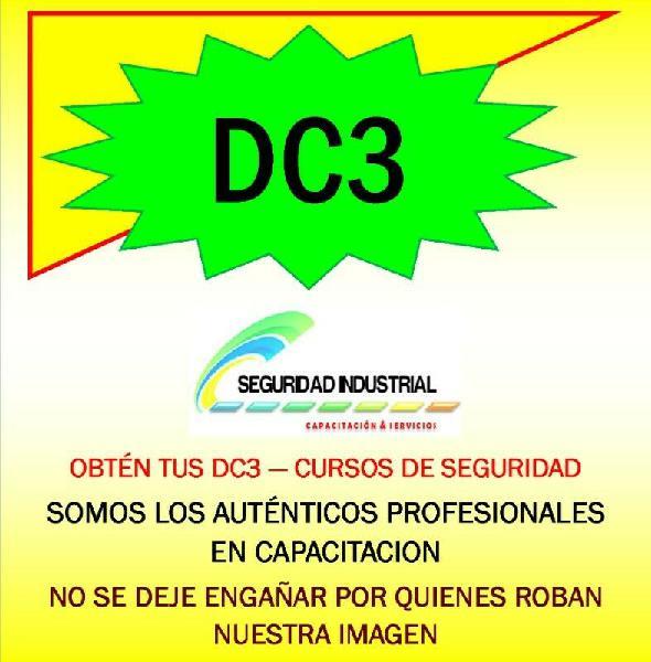 Dc3 constancia de competencias o de habilidades laborales