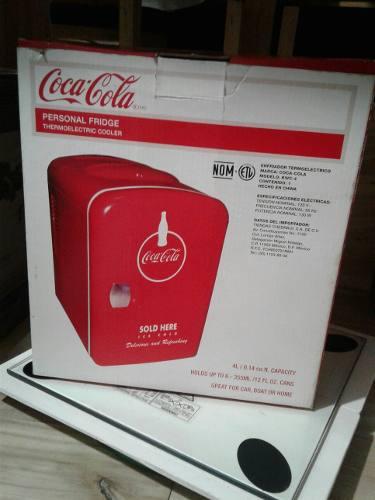 Enfriador mini coca cola