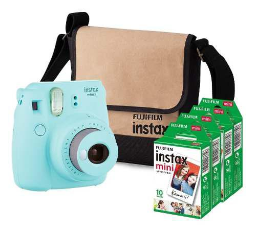 Fujifilm Paqute Instax Mini 9 + 40 Fotos + Regalo