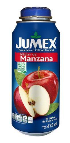 Jumex nec latabotella manzana 12/473 ml