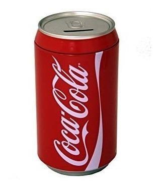 La caja de la lata coca cola puede banco