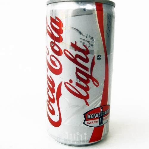 Lata antigua caracas venezuela 1997 coca cola light 295ml