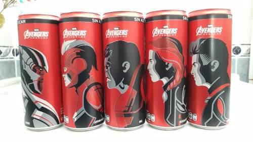 Lata coca cola avengers endgane 355ml