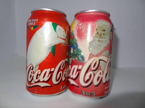 Lata coca cola edicion 2002 navidad