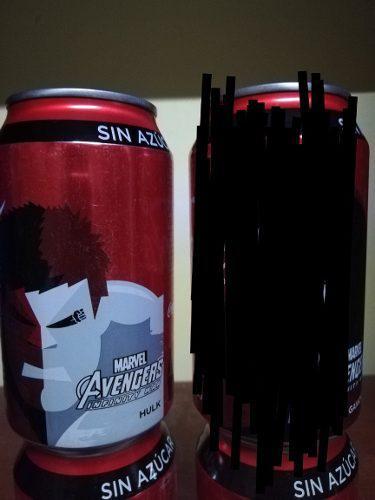 Latas coca cola avengers infinity war 355ml