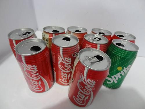 Lote 10 pz latas coca cola juegos olimpicos barcelona 1992