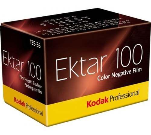 Pelicula film de color ektar100 35mm kodak