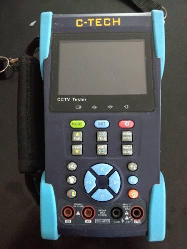 Probador de cctv camaras de seguridad tester epcom ep-turbo