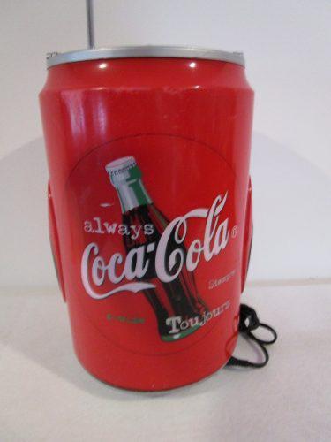 Radio lata coca cola