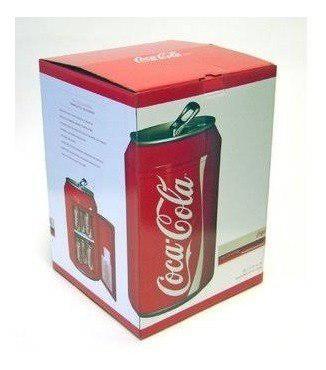 Refrigerador de lata de coca cola edicion especial