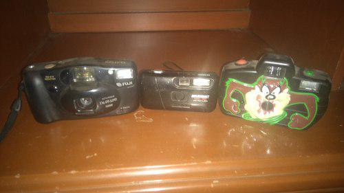 Remato tres camaras fotograficas 2-135 y1-110