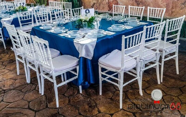 Renta de mesas y sillas cuautitlán izcalli