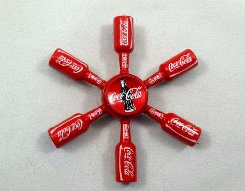 Spinners de colección coca cola y budweiser