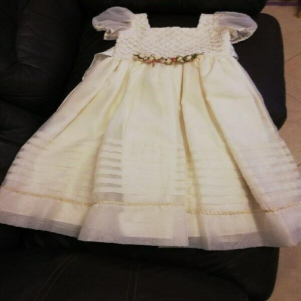 Vestido de fiesta, talla 3-4 años