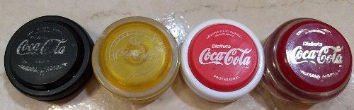 Yoyos coleccion coca cola usado original