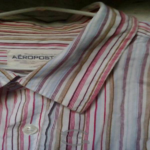 camisa aeropostale talla XL slim fit
