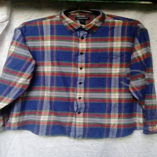 camisa lands end talla L original